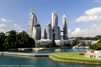 Twisty Keppel Bay towers