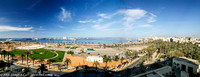 Tripoli harbour - a panoramic