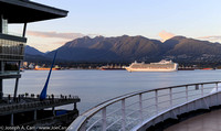 The Ruby Princess departs Vancouver
