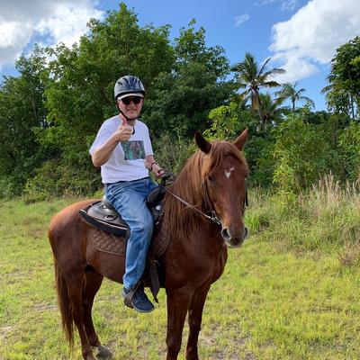 Joe on his horse Natcho