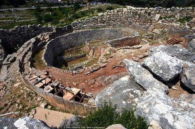 Grave Circle A - Mycenae