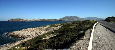 Arsida Island and a nice bay on the Saronic Gulf