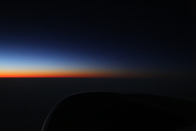 Sunrise over the Atlantic - Mid-Atlantic south of Iceland