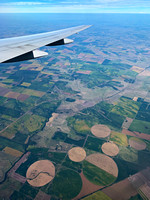 Farmland on approach to Buenos Aires