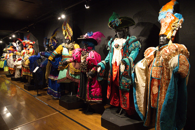 Carnival costumes - Carnaval Museum, Montevideo, Uruguay