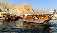 Dhows docked