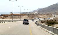 Expressway along the coast between Muscat and Sur