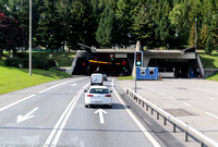 Entrance to Gotthard Tunnel