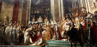 Consecration of the Emperor Napoleon & Josephine in Notre Dame