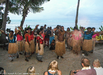 Fijian group at Lovo Night