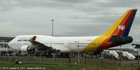 Air Pacific's Boeing 747-400 at Nadi airport