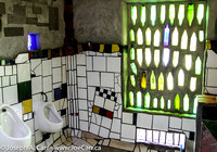 The Frederick Hundertwasser Toilets