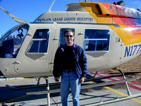 Joe and a Papillon Grand Canyon Helicopter