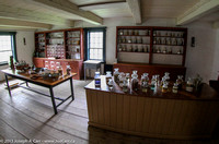 Apothecary in the doctor's residence
