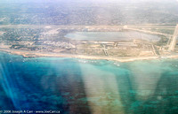 Approaching Benghazi by air - Western Lakes
