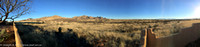 Panoramic view of the Dragoon Ranch land
