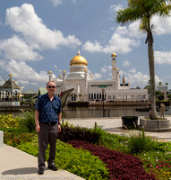 Joe in front of the old mosque