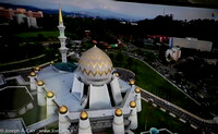 Aerial view of the State Mosque