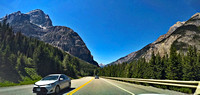 Mt. Stephen - westbound through the Rockies at Kicking Horse Pass