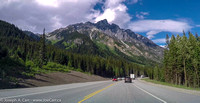The Camels - Rogers Pass - TransCanada Highway eastbound