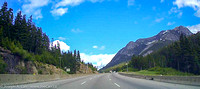 Highway 5 eastbound at Great Bear Showshed to the Coquihalla Summit