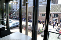 Lineup for the Anne Frank House