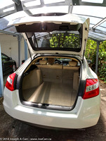 Hatchback & rear cargo area