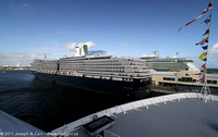 ms Noordam  & Liberty of the Seas alongside pier