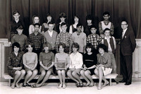 Grade 9 Division 1 class of 1967 - Mount Prevost Junior Secondary School