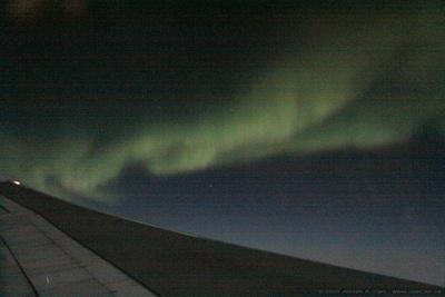 JoeTourist: Victoria to Johannesburg &emdash; Aurora over the North polar region