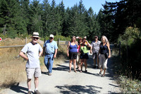 On our way to the S pool on the Cowichan River