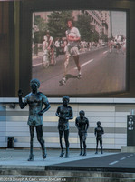Terry Fox Memorial - Main Plaza of Vancouver Stadium