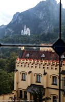 Neuschwanstein Castle from Hohenschwangau Castle