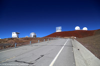 Observatories L to R: James Clerk Maxwell, CalTech Submillimeter, Subaru, Kecks
