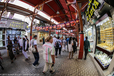 The Gold Souk - Old Dubai