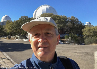 Joe atop Kitt Peak National Observatory