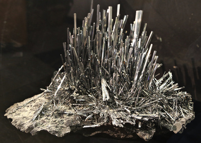 Stibnite from the University of Arizona Mineral Museum