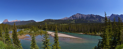 JoeTourist: 2018 Victoria to Calgary &emdash; Castle Mountain, the Sawback Range, Mt Ishbel and the Bow River