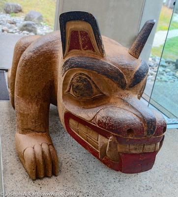 Haida Bear by Bill Reid - UBC Museum of Anthropology