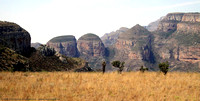 The Three Rondavels formations in the Blyde River Canyon