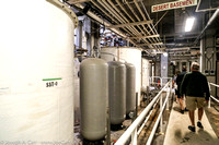 Tanks and plumbing in the Energy Center under the Desert