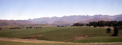 JoeTourist: KwaZulu-Natal Province &emdash; Farming in the Drakensberg Mountains