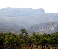 Mountains and trees near Blyde River Canyon