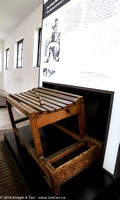 A table of torture where prisoners were beaten