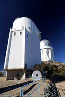 The 2.3m Steward observatory and the 4m Mayall observatory