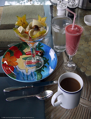 JoeTourist: Hilo &emdash; Breakfast at the B&B