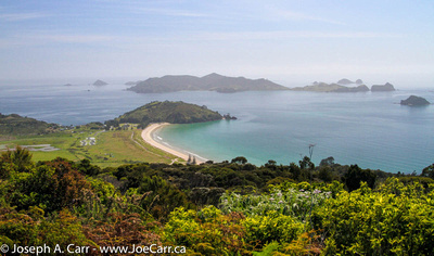 Matauri Bay & Cavalli Islands from the ridge