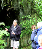 Norm, our Spellbound guide at the entrance to the dry cave