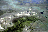 Aerial of the Okavango Delta