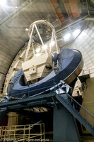 Inside view of the Mayall 4 meter telescope